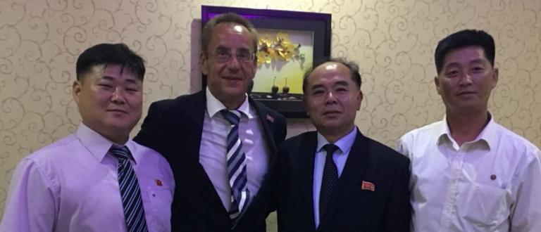 ICF Vice President Thomas Konietzko North Korea canoe officials