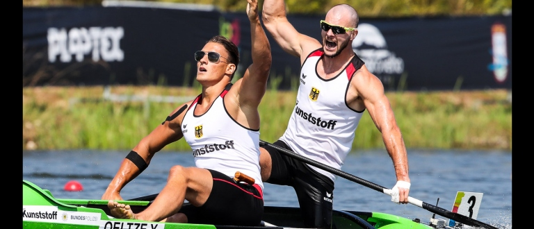 Germany Yul Oeltze Peter Kretschmer C2 1000 Montemor 2018