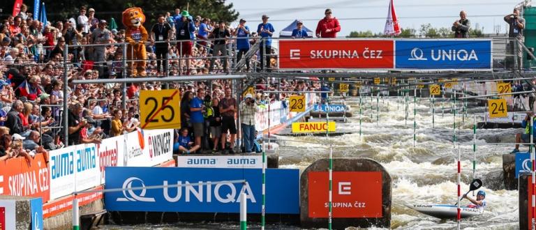 Prague crowd ICF world cup final 2019