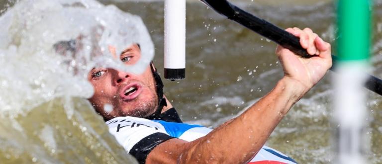 Canoe slalom world cup final Prague 2019