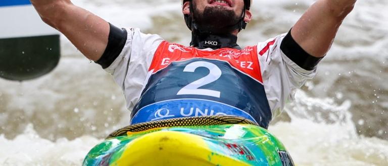 Germany Stefan Hengst extreme slalom Prague 2019