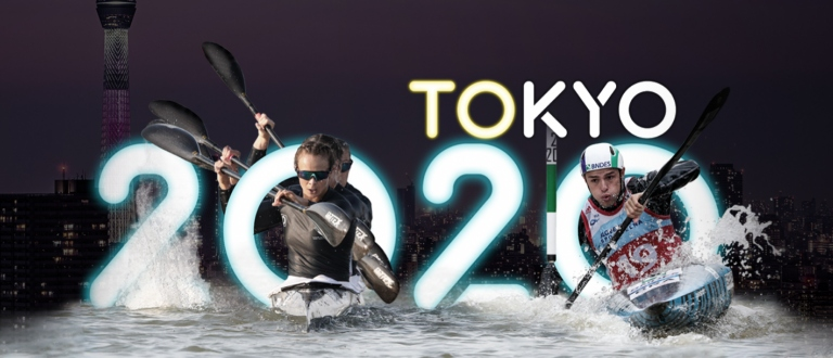 Tokyo 2020 Olympics Japan International Canoe Federation Kayak News Header