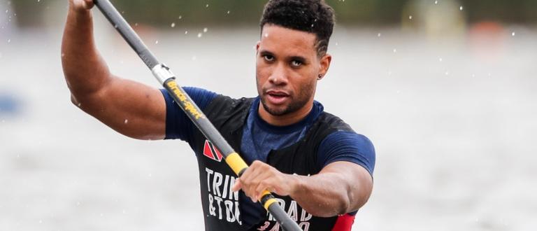 Trinidad Tobago Nicholas Robinson canoe sprint Copenhagen 2021