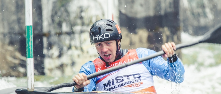 Czech K1 paddler Onrej Tunka