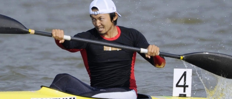 Japan paddler Yasuhiro Suzuki