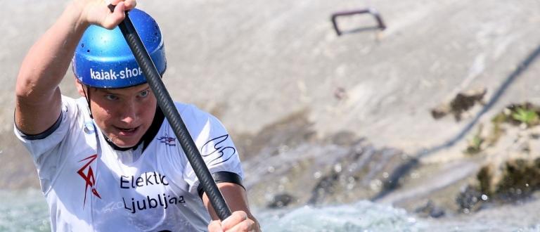 Slovenia Ziga Lin Hocevar canoe slalom