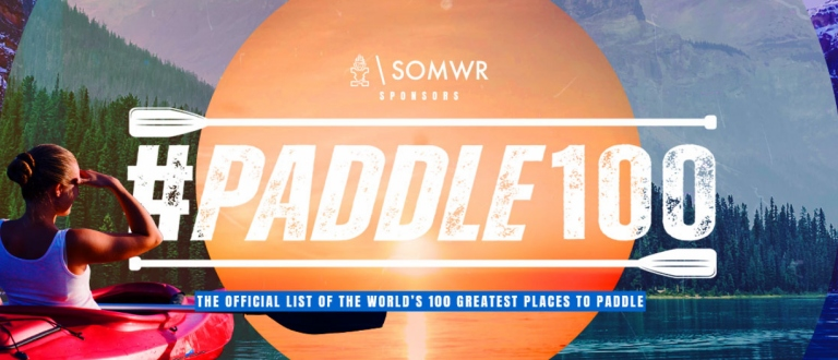 #Paddle100 best canoeing kayaking stand up paddling SUP locations planet world tourism travel activity Starboard SOMWR