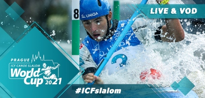2021 ICF Canoe Kayak Slalom World Cup 1 Prague Czech Republic Tokyo 2020 Olympic Selection Live TV Coverage Video Streaming