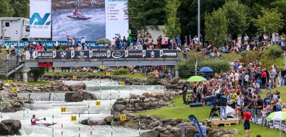 Canoe Slalom Course Pau, France