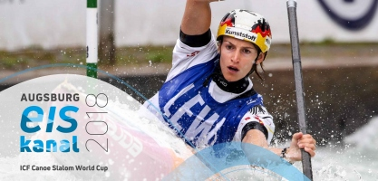 2018 ICF Canoe Slalom World Cup 3 Augsburg Germany