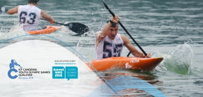2018 ICF Canoe Slalom Youth Olympic Games Qualification Barcelona Spain