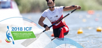 2018 ICF Canoe Sprint Junior U23 World Championships Plovdiv Bulgaria