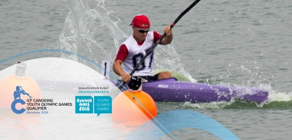 2018 ICF Canoe Sprint Youth Olympic Games Qualification Barcelona Spain