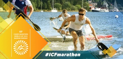 2019 ICF Canoe Marathon World Cup Baerum Norway
