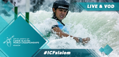 2019 ICF Canoe Slalom Junior U23 World Championships Krakow Poland