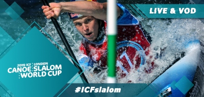 2019 ICF Canoe Slalom World Cup 1 Lee Valley Great United Kingdom