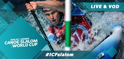 2019 ICF Canoe Slalom World Cup 1 Lee Valley Great United Kingdom
