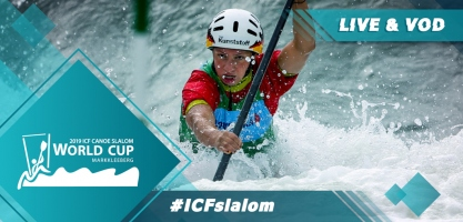 2019 ICF Canoe Slalom World Cup 4 Markkleeberg Germany