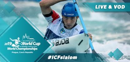 2019 ICF Canoe Slalom World Cup 5 Prague Czech Republic