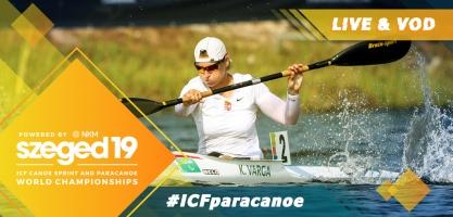 2019 ICF Paracanoe World Championships Tokyo 2020 Olympic Qualifier Szeged Hungary