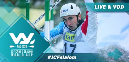 2020 ICF Canoe Kayak Slalom World Cup Pau France Live Coverage