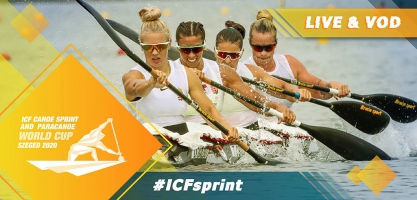2020 ICF Canoe Kayak Sprint World Cup Szeged Hungary Live Coverage