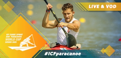 2020 ICF Paracanoe Kayak World Cup Szeged Hungary Live Coverage