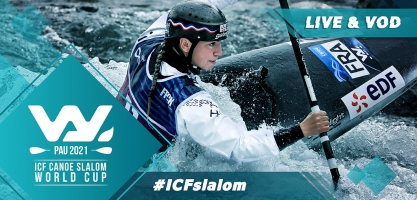2021 ICF Canoe Kayak Slalom World Cup 4 Pau France Live TV Coverage Video Streaming