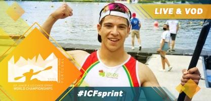 2021 ICF Canoe Kayak Sprint Junior & U23 World Championships Montemor O Vehlo Portugal Live TV Coverage Video Streaming