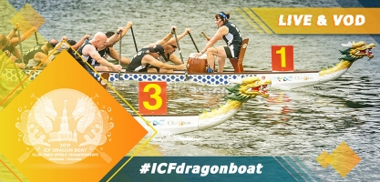 2021 ICF Dragonboat Club Crew World Championships Poznan Poland Live TV Coverage Video Streaming