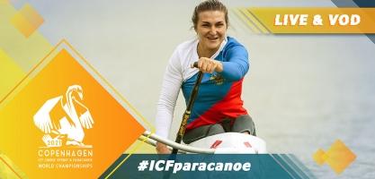 2021 ICF Paracanoe Sprint World Championships Copenhagen Denmark Live TV Coverage Video Streaming