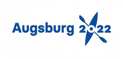 2022 ICF Canoe Slalom Ranking Race Augsburg logo