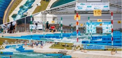 Canoe slalom venue compilation Rio