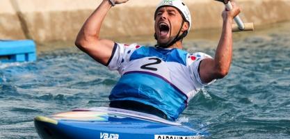 Denis Gargaud Chanut Fance Rio 2016 Olympic Gold Medallist