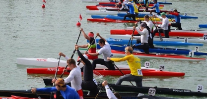 Gloria Canoeing Cup Long Distance 5000m Antalya Turkey