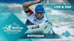 2019 ICF Canoe Slalom World Cup 5 Prague Czech Republic / Heats – C1w, K1m