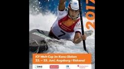 #ICFslalom 2017 Canoe World Cup 2 Augsburg - Sunday morning