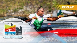 VL3 Men 200m Final / 2018 ICF Paracanoe World Championships Montemor
