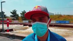 Jakub GRIGAR Slovakia / Kayak Gold Medallist - 2021 ICF Canoe Slalom World Cup Markkleeberg
