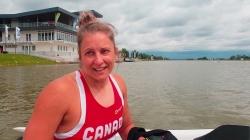 Canadian paracanoe athlete Brianna Hennessy