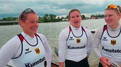 Germany / K4 500m Gold - 2021 ICF Canoe Sprint World Cup 1 Szeged