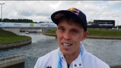Joseph Clarke GBR K1 Gold / 2019 ICF Canoe Slalom World Cup 1 London United Kingdom