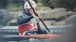 Elite Slalom Athletes ready to paddle in Pau