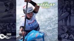 #TBT K1 Women Classic Martina Satkova CZE / 2018 ICF Wildwater Canoeing World Championships Muota