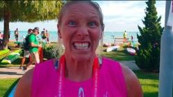 American SUP athlete April Zilg
