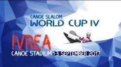 #ICFslalom 2017 Canoe World Cup 4 Ivrea - Sunday morning SEMI-FINALS