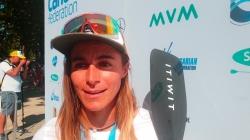 French SUP world champion Olivia Piana