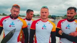Spain / K4 500m Gold - 2021 ICF Canoe Sprint World Cup 1 Szeged