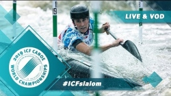 2019 ICF Canoe Slalom World Championships La Seu d'Urgell Spain / Slalom Finals – C1m, K1w