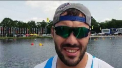 K1m 1000m Josef Dostal Czech Republic / 2019 ICF Canoe Sprint World Cup 2 Duisburg Germany /